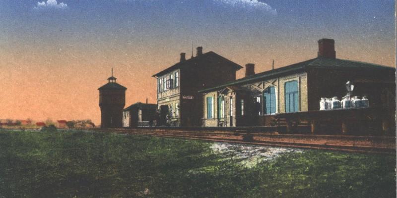 Grobina Railway Station